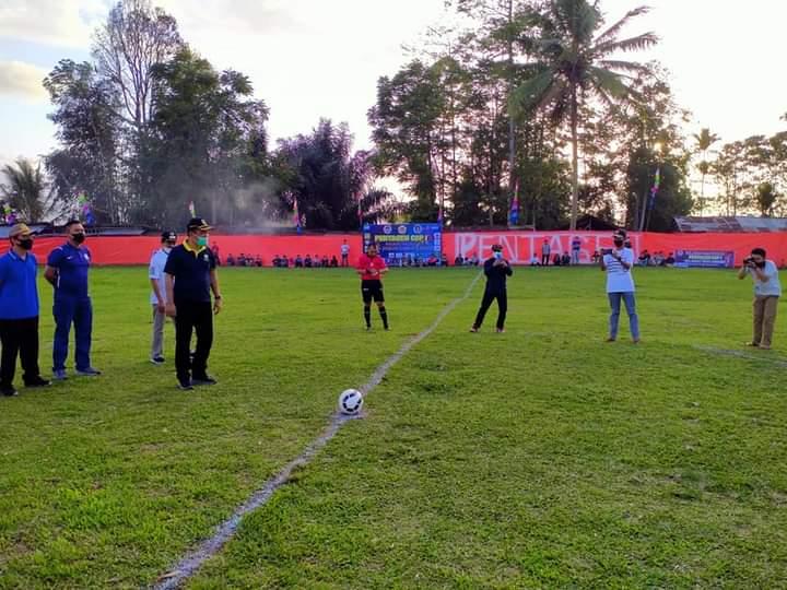 Pj Sekda Kerinci Asraf Buka Secara Resmi Turnamen Cup 1 Pentagen